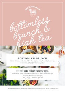 Bottomless Brunch and Afternoon Tea